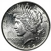 1922-D Peace Dollar MS-62 PCGS - L30189