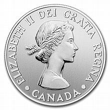 2012 1/4 oz Silver Canadian $20 Queen's Diamond Jubilee Coin - L26746