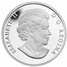 2013 1 oz Silver Canadian $25 Coin - The Beaver Family - L27422
