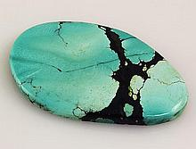 Natural Turquoise 100.02ctw Loose Gemstone 1pc Big Size - L21048