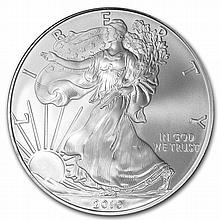 2010 1 oz Silver American Eagle (Brilliant Uncirculated) - L25574
