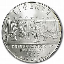 2007-P School Desegregation $1 Silver Commemorative MS-69 PCGS - L30909