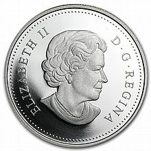 2012 Silver Canadian $5 Commemorative Proof Coin - Georgina Pope - L27084