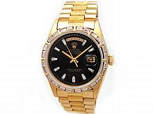 36mm Gents Rolex 18k Yellow Gold Oyster Perpetual Daydate Watch. Style - L29674