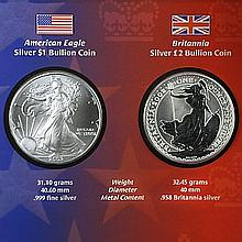 2003 2-Coin Legacies of Freedom Silver Coin Set - L30901