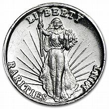 1 oz Rarities Mint (High Relief) Silver Round .999 Fine - L28438