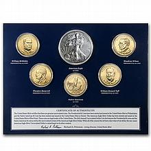 2013-W US Mint Annual Uncirculated Dollar 6-Coin Set - L28899