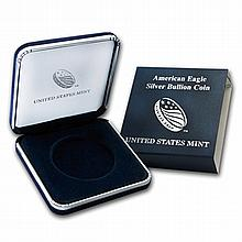 Empty 1 oz Silver American Eagle U.S. Mint Box - L29796