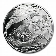2013 Triassic Life In The Water 20 Euro Silver Coin ASW 0.5209 - L28252