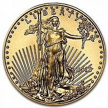 2014 1/10 oz Gold American Eagle (w/ U.S. Mint Box) - L27694