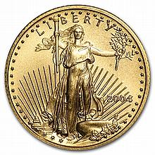 2004 1/10 oz Gold American Eagle - Brilliant Uncirculated - L29755