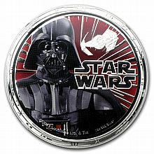 2011 Star Wars 1oz Silver PF-70 UCAM NGC - Darth Vader - L26804