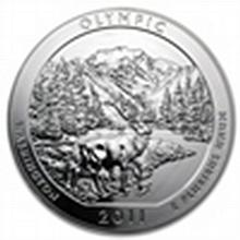 2011 5 oz Silver ATB - Olympic National Park, WA - L24831
