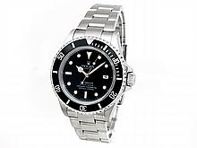 40mm Gents Rolex Stainless Steel Oyster Perpetual Sea Dweller Watch. Black Dial. Stainless Steel Bezel, black insert. Stainless Steel Oyster Band. Style 16600. - L29692