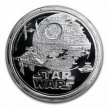 2011 Star Wars 1oz Silver PF-70 UCAM NGC - Death Star - L27008