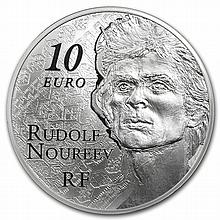 2013 10 Euro Silver Proof 7 Arts Series - Rudolf Nureyev - L27382