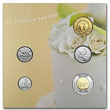 2014 Canada Wedding 5-Coin Gift Set - L29076