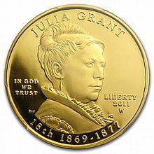 2011-W 1/2 oz Proof Gold Julia Grant PR-69 PCGS First Strike - L26272