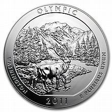 2011 5 oz Silver ATB - Olympic National Park, WA - L25972