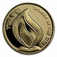2011 Israel Queen Esther Proof Gold Medal AGW .188 oz - L26598