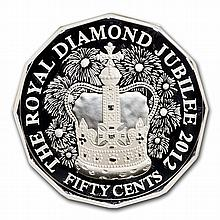Royal Australian Mint 2012 Silver Proof - Diamond Jubilee - L26960