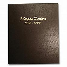 Dansco Album #7178 - Morgan Dollars 1878-1890 - L29790