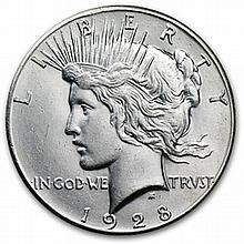 1928 Peace Dollar - MS-60 - L25724