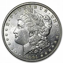 1891 Morgan Dollar - Brilliant Uncirculated - L29941