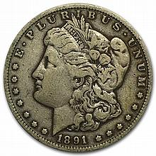 1891-CC Morgan Dollar - Very Fine - L31445