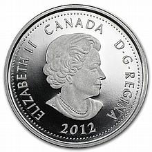 2012 1/4 oz Silver Canadian $4 Heroes of 1812 - Sir Isaac Brock - L27082