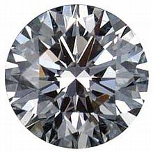 Round 0.60 Carat Brilliant Diamond D VS1 - L24416
