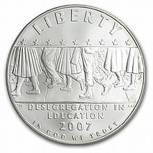 2007-P School Desegregation $1 Silver Commemorative MS-70 PCGS - L25936