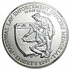 1997-P Law Enforcement $1 Silver Commemorative - MS-69 NGC - L29484