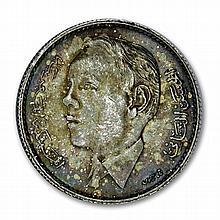 Morocco 1965 Silver 5 Dirhams (BU) Mohammed V - L27887