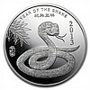 2 oz Year of the Snake Silver Round .999 Fine - L27014