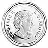 2012 1 oz Silver Canadian $15 - Maple of Good Fortune W/Hologram - L26861