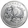 2013 1 oz Canadian Wildlife Series - Wood Bison MS-69 NGC (ER) - L27599