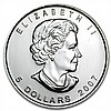 2007 1 oz Silver Canadian Maple Leaf (Brilliant Uncirculated) - L31828