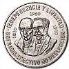 1960 Mexican Silver 10 Pesos 150th Ann (XF/AU) ASW .8357 - L30794