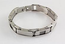 Men's Stainless Electroplated Bracelet 8 3/4 - L25135