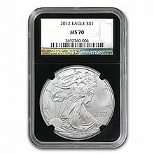 2012 Silver American Eagle (NGC MS-70) - L22888