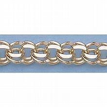 Pure Gold 7 14kt Italian Gold-Yellow or White 5.7mm, Charm Bracelets Gauge:Y4055, 9.6gr - L11335