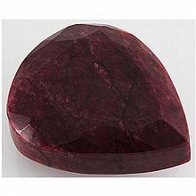 Ruby 2729.5ct Loose Gemstone 105x85mm Pear Cut - L15638
