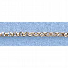 Pure Gold 16 14kt Italian Gold-Yellow or White 1.7mm, Rolo Chain Gauge:070, 3.2gr - L11268