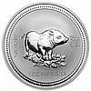 2007 1 oz Silver Lunar Year of the Pig (Series I) - L25095