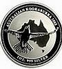2002 1 oz Silver Australian Kookaburra - L25057