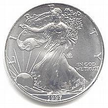 Uncirculated Silver Eagle 1997 - L17935