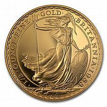 1988 1/2 oz Proof Gold Britannia PF-70 UCAM NGC - Registry Set - L19933