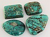 Natural Turquoise 291.53ctw Loose Gemstone 4pc Big Size - L21221