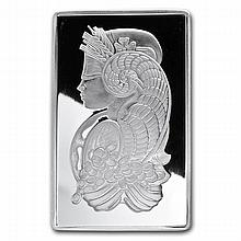 5 oz Pamp Suisse Silver Bar - Cornucopia (In Assay) .999 Fine - L24748